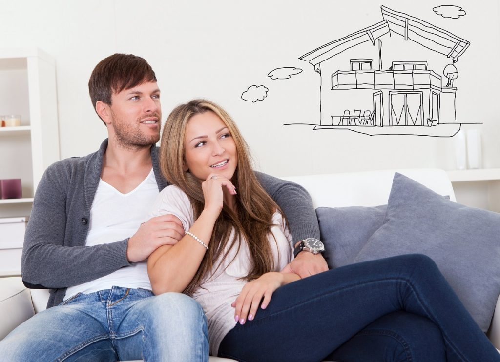 Couple Thinking about buying a new home